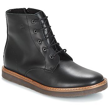 Chaussures Enfant Boots Citrouille et Compagnie HATINE Noir
