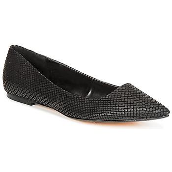 Chaussures Femme Ballerines / babies Dune London AMARIE Noir