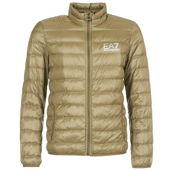 Vêtements Homme Doudounes Emporio Armani EA7 TRAIN CORE ID M DOWN LIGHT Marron