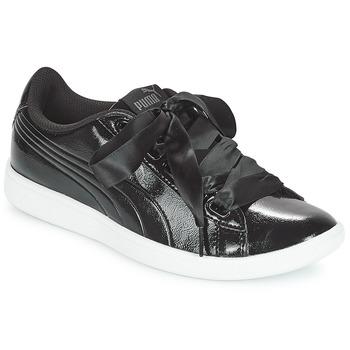 Chaussures Femme Baskets basses Puma VIKKY RIBBON P NOIR