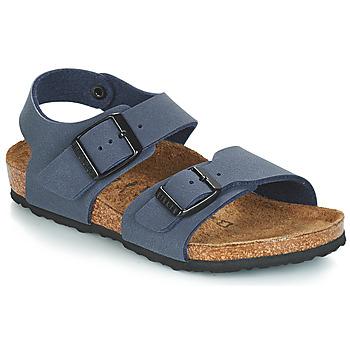 Chaussures Garçon Sandales et Nu-pieds Birkenstock NEW YORK Bleu