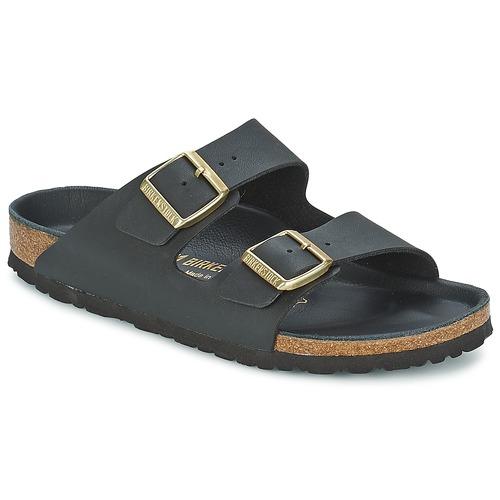 Chaussures Femme Mules Birkenstock ARIZONA Noir / Or