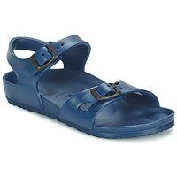 Chaussures Enfant Sandales et Nu-pieds Birkenstock RIO EVA Marine