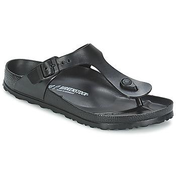 Chaussures Tongs Birkenstock GIZEH EVA Noir