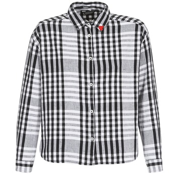 Vêtements Femme Chemises / Chemisiers Scotch & Soda FRINDA Noir / Blanc