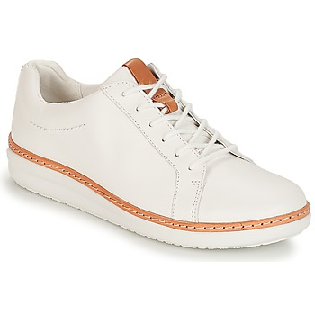 Chaussures Femme Derbies Clarks Amberlee Rosa White white