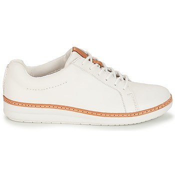 Derbies Clarks Amberlee Rosa White