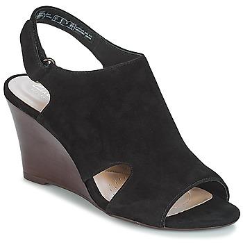 Chaussures Femme Sandales et Nu-pieds Clarks Raven Mist Black Sde