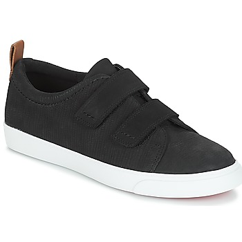 Chaussures Femme Baskets basses Clarks Glove Daisy Black Combi Nbk