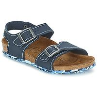 Chaussures Fille Sandales et Nu-pieds Birki's NEW YORK Neoprene Blue