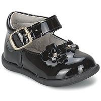 Chaussures Fille Ballerines / babies Citrouille et Compagnie ASKO Noir