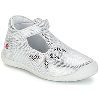 Chaussures Fille Baskets basses GBB MARGOT VTE ARGENT DPF/ZAFRA