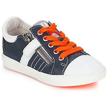Chaussures Garçon Baskets basses GBB MAXANCE VTE MARINE-BLANC DPF/2706