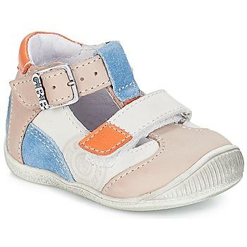 Chaussures Garçon Baskets basses GBB PIERRE VTC GRIS-BLEU DPF/RAIZA