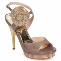 Chaussures Femme Sandales et Nu-pieds Fericelli MINKA capretto tortora
