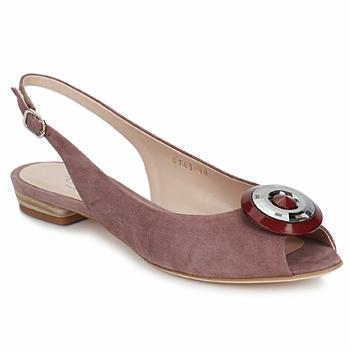 Sandale Fericelli PITOUCLI camoscio malva