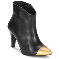 Chaussures Femme Bottines Pastelle ARIEL NOIR-or
