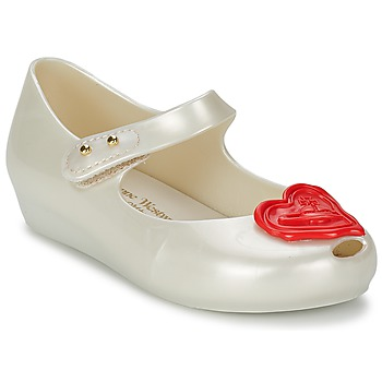 Chaussures Fille Ballerines / babies Melissa VW MINI ULTRAGIRL Beige