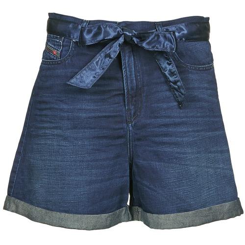 Vêtements Femme Shorts / Bermudas Diesel DE-KAWAII Bleu foncé