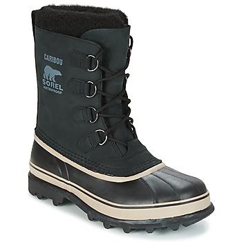 Chaussures Homme Bottes de neige Sorel CARIBOU Noir