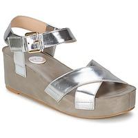 Chaussures Femme Sandales et Nu-pieds RAS NIOBE Argent