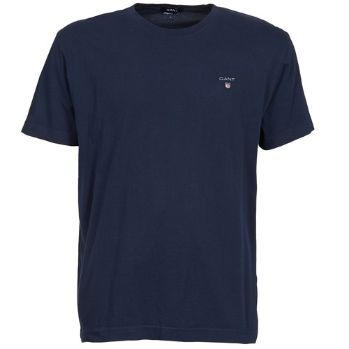 Vêtements Homme T-shirts manches courtes Gant THE ORIGINAL SOLID T-SHIRT Marine