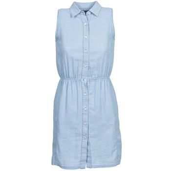 Vêtements Femme Robes courtes Gant O. INDIGO JACQUARD Bleu