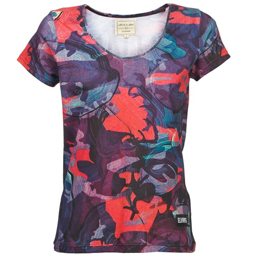 Vêtements Femme T-shirts manches courtes Eleven Paris HAREL Multicolore