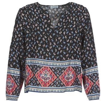 Vêtements Femme Tops / Blouses Casual Attitude WASAS Noir / Multicolore