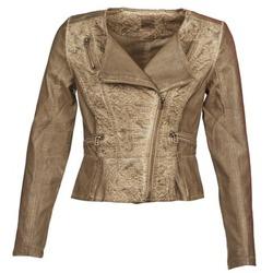 Vêtements Femme Vestes en cuir / synthétiques Cream LIL Taupe