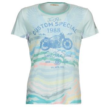 Vêtements Homme T-shirts manches courtes Gaudi ABHIJVALA Bleu