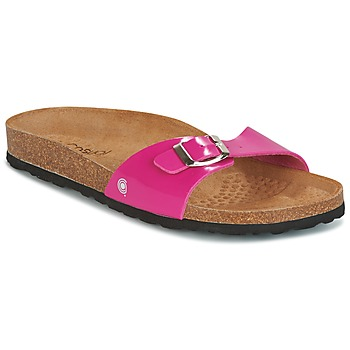 Chaussures Femme Mules Casual Attitude TERTROBAL Fuchsia / Charbon