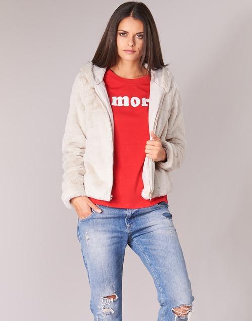Vêtements Femme Blousons Only ONLCHRIS Beige