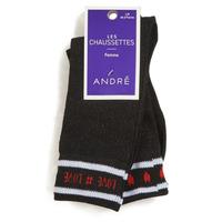 Accessoires textile Femme Chaussettes André LOVE NOIR