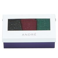 Accessoires textile Femme Chaussettes André DOUCEUR MULTICOULEURS