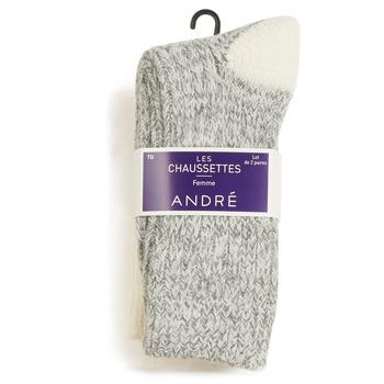 Accessoires textile Femme Chaussettes André SNOW MULTICOULEURS