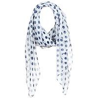 Accessoires textile Femme Echarpes / Etoles / Foulards André INGRID Ecru / Marine