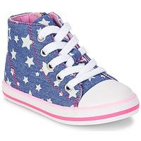 Chaussures Fille Baskets montantes Chicco CREMIXI Denim étoile