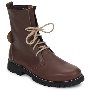 Chaussures Femme Boots Swamp BIKE Marron