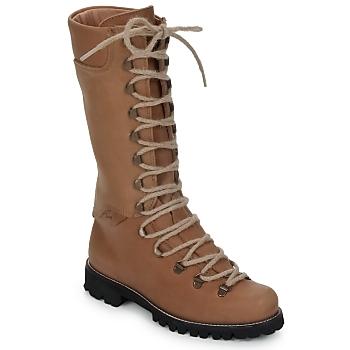 Chaussures Femme Boots Swamp STIVALE LACCI Marron clair