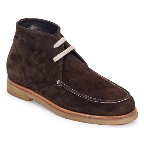 Chaussures Femme Boots Swamp POLACCHINO SU Marron foncé