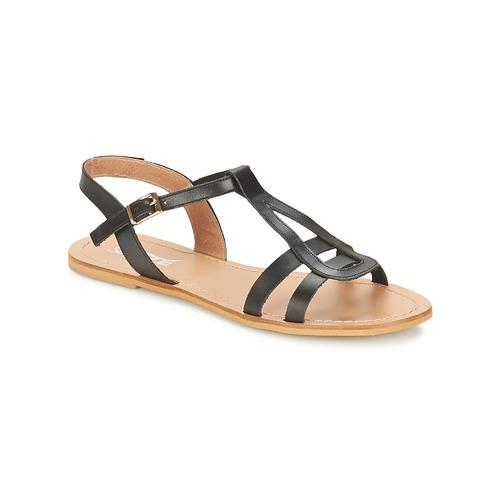 Chaussures Femme Sandales et Nu-pieds So Size DURAN Noir
