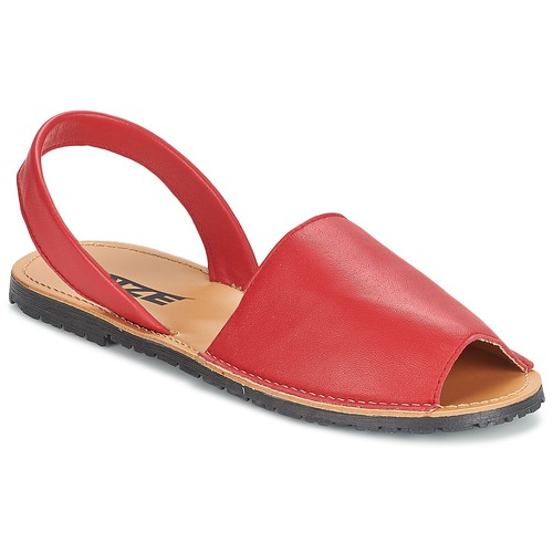 Chaussures Femme Sandales et Nu-pieds So Size LOJA Rouge