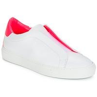 Chaussures Femme Baskets basses KLOM KISS Blanc / Rose
