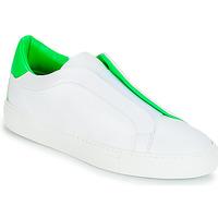 Chaussures Femme Baskets basses KLOM KISS Blanc / Vert