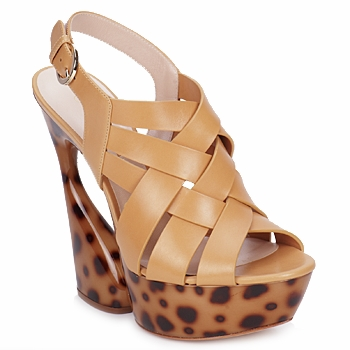 Chaussures Femme Sandales et Nu-pieds Casadei MAGGY SWEET NATURE