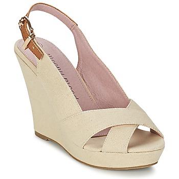 Chaussures Femme Sandales et Nu-pieds Moony Mood AKOLM Beige