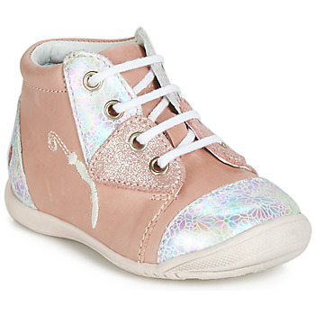 Chaussures Fille Baskets montantes GBB VERONA Rose