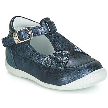 Chaussures Fille Ballerines / babies GBB PAKITA Bleu