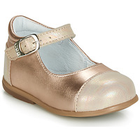 Chaussures Fille Ballerines / babies GBB BELISTO Rose gold
